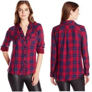 Rails Red & Blue Plaid Shirt